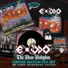 EXODO - THE NEW BABYLON BOX SET LTD EDIT. 50 NUMBERED WITH ORIGINAL VINYL LP NEW