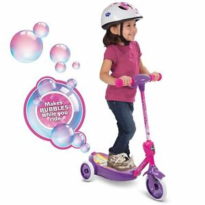 Disney Princess 6V 3-Wheel Electric Ride-On Bubble Scooter for Kids'