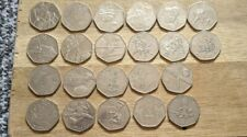 More details for olympic 50p coin job lot x22