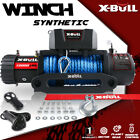 X-BULL 13000LBS Electric Winch Synthetic Truck Trailer Towing 12VDC Off-Road 4WD