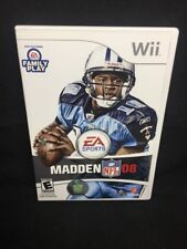 Madden NFL 08 Nintendo Wii Rating E-Everyone Video Games for sale   eBay