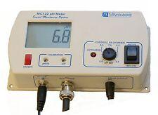 Milwaukee MC122 pH Controller 115V, for CO2 Dosing /Monitor / Tester / Meter