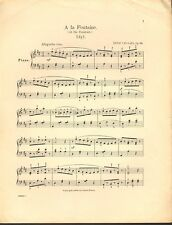A la Fontaine by Henri Van Gael - 1900