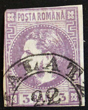 Timbre ROUMANIE / ROMANIA Stamp - Yvert et Tellier n°3 obl (Cyn22)