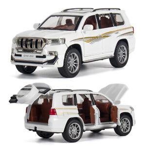 Toyota Land Cruiser Prado 1:24 Diecast Model Car Toy Collectible Sound&Light