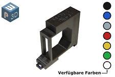 Shelly 2.5 / EM Hutschienenhalter / Adapter Single DIN Rail bracket (35mm)