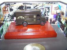 Boxed UPS Brown Metal Die Cast Delivery Truck 90th Year Presentation Diorama