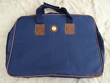 NEW Navy weekender bag, boat logo, with feet and handle strap