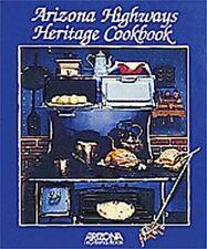 Arizona Highways Heritage Cookbook, Louise DeWald, Good Book