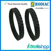 Genuine Zodiac MX8 MX6 Tracks AX10 Pool Cleaner Tyre Tracks, 2 Pack A0116100