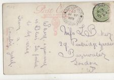 Miss L Baker Pembridge Gardens Bayswater London W 1907 100b