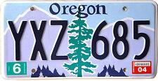 Oregon FIR TREE License Plate