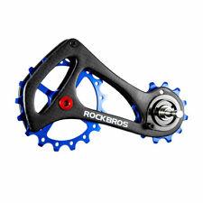 ROCKBROS Carbon Fiber Bike Rear Derailleur Cage Pulley Kit For Sram Kits Blue