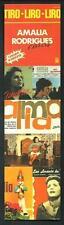 Amalia Rodriguez ( Fado - Portogallo ) 4° - Segnalibro / Bookmark / Lesezeichen