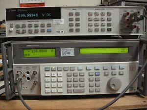 Agilent / HP 3458A MULTIMETER  /  Option 001