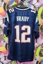 New England Patriots Tom Brady #12 NFL Jersey Reebok Mens Size L