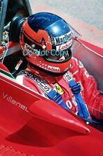 Gilles Villeneuve Ferrari F1 Portrait Photograph 5