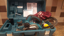 MAKITA KP0810K 110VOLT PLANER WITH ACCESSORIES INC CARRY CASE AND DUST BAG