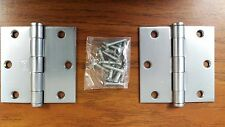 Hager 1279 US26D Brushed Chrome Finish Door Hinges
