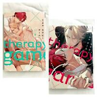 Therapy Game Complete Set Vol.1-2 Japanese Manga Yaoi Meguru Hinohara