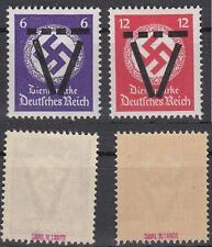 Saulgau, 2 timbres service Marques, examiné longtemps