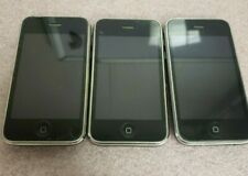 Lot of 3 Apple iPhones: A1214 - (2) 8GB  (1) 16GB- Parts only