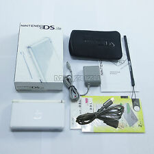 Brand New Polar White Nintendo DS Lite HandHeld Console System with gifts
