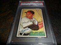 1952 BOWMAN BASEBALL CARD #229 HANK ARFT ST. LOUIS BROWNS PSA/DNA  D.2002