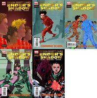 Enders Shadow Command School #1-5 (2009-2010) Marvel Comics - 5 Comics