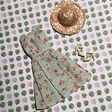 Barbie Doll English Floral Sun Dress Heels Mori Fashion Lot