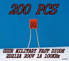 200PCS 2D212A /2Д212А KD212A / 10A 200V 100KHz FAST DIODE USSR MILITARY IN BOX