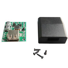 Solar Panel Power Bank USB Charge Voltage Controller Regulator With Cover 5v 2A