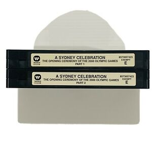 A Sydney Celebration - The opening of the 2000 olympics VHS tapes only no case
