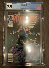 Wolverine #1 CGC 9.4 NEWSSTAND WHITE PAGES 1st appearance Patch 1st Ongoing