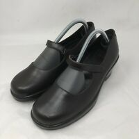 Dansko Womens Shoes Mary Jane Brown Leather SZ 41/11 Made In Portugal