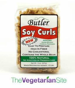 Butler Soy Curls Vegan Meat Substitute 1/12/2022 - FREE SHIPPING - vegetarian