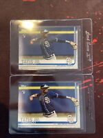 Fernando Tatis Jr 2019 Topps Series 2 Rookie PSA Hot Padres MLB 410 X2