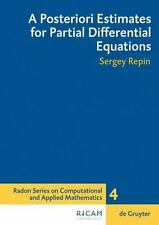 Radon Series on Computational and Applied Mathematics: A Posteriori Estimates...