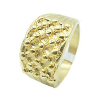 KEEPER RING GOLD TONE HI QUALITY 316L STAINLESS STEEL