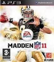MADDEN NFL 11              -----   pour PS3  -----