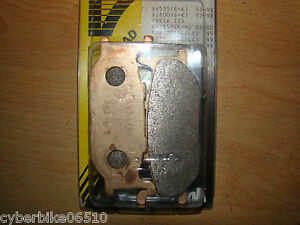 TDR 125 - 1993  /  TMAX 500 01/03  /  XV 535 - 1100 VIRAGO  - PLAQUETTES NEUVES