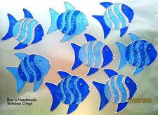 BEA'S GLITTER FISH WINDOW CLINGS MIRROR BATHROOM  TILE DECORATION