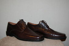 Mens BARISAL Dark Brown Leather Dress/Casual Lace-up/Oxfords/Shoes EU 44/US 10.5