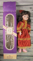 "The Broadway Collection 10"" Porcelain Doll Red Dress"