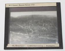 Kassel, antikes Lichtbild Glasplatte ca. 1920 #E904