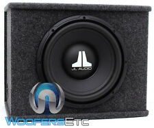 "JL AUDIO CS112-WXV2 12"" SUB 4-OHM LOADED ENCLOSED SUBWOOFER BASS SPEAKER BOX NEW"