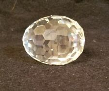 Swarovski Crystal Egg, 2 1/4 inches long