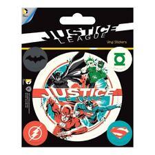 Offiziell Lizenziert Dc Comics justice league Superhelden Vinyl Sticker Set mit