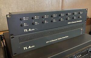 TL Audio VI1 8 Channel Valve Interface + VIS Switcher