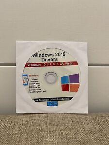 Windows 2019 Drivers Disc Repair